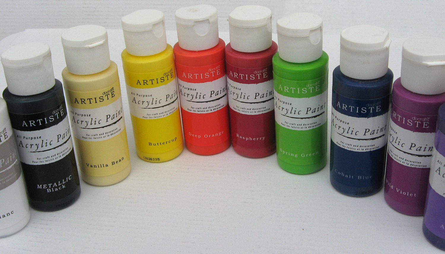 Water Based Paint Crafts